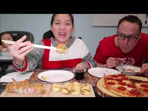 Vlog 569 ll Ăn Pizza Nướng Tại Nhà & Sushi Béo Ngậy - Thời lượng: 24 phút.