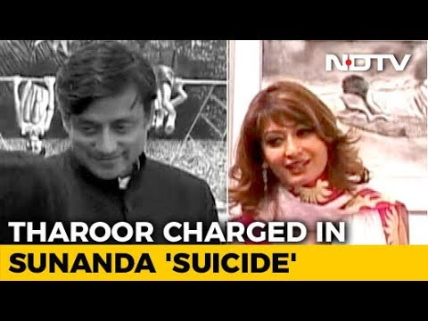 Shashi Tharoor Charged With Abetting Suicide In Sunanda Pushkar's Death