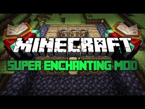 Minecraft: Mody 1.3.2 - Super Enchanting!
