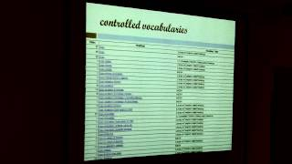 UCLA Biomedical Library - Describing Your Data: Metadata, Thesauri, Taxonomies,&More - 2013/05/22