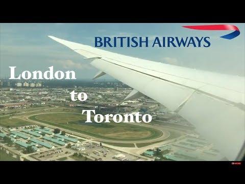 Trip Report: British Airways B787 economy class London to Toronto. LHR-YYZ