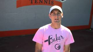 BU Men's Tennis Interview with Aaron Greenbaum
