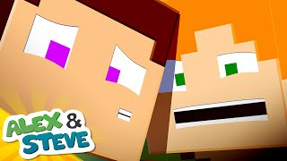 🔮 WE'RE TRAPPED IN HERE | The Minecraft Life of Alex and Steve | Minecraft Animation