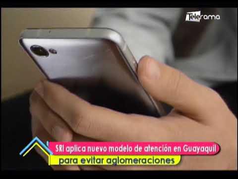 SRI aplica nuevo modelo de atención en Guayaquil para evitar aglomeraciones