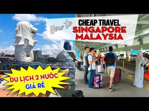 DU LỊCH SINGAPORE MALAYSIA Giá Rẻ Tự Túc ▶ Đi chơi xuyên 2 Nước - Thời lượng: 24 phút.