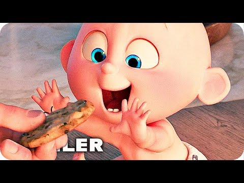 Incredibles 2 Clips & Trailer (2018) Disney Pixar Movie
