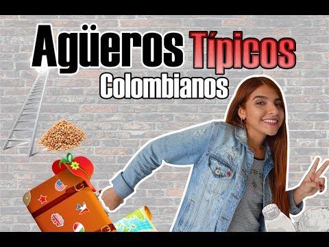 AGÜEROS TÍPICOS DE COLOMBIA    Dile Martínez