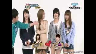 120321 Miss A Weekly Idol part 1/2 Eng Sub