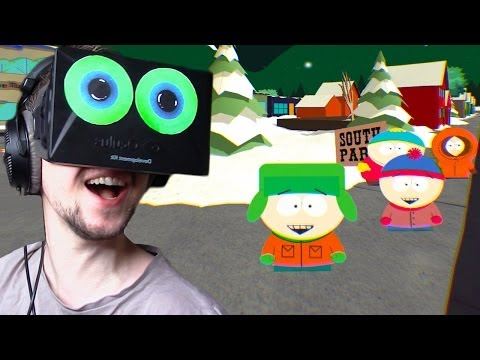 South Park with the Oculus Rift