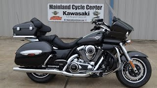 6. SALE $14,599:  2015 Kawasaki Vulcan 1700 Voyager ABS  Overview and Review