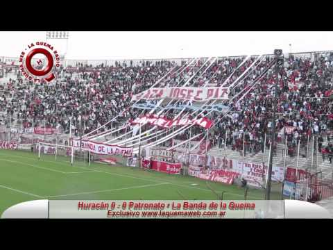 La Banda de la Quema - Huracan vs Patronato - www.laquemaweb.com.ar - La Banda de la Quema - Huracán - Argentina - América del Sur