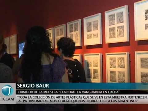 La Vanguardia del Grupo de Boedo desembarca en el Bellas Artes  !