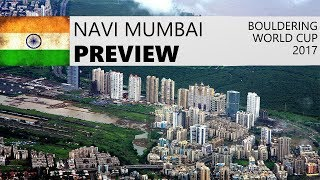 Navi Mumbai Bouldering World Cup 2017 | Preview by OnBouldering