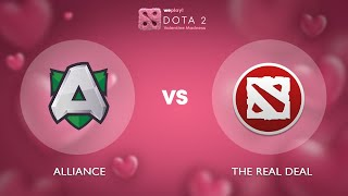 Alliance vs The ReaL DeaL - RU @Map2 | Dota 2 Valentine Madness | WePlay!