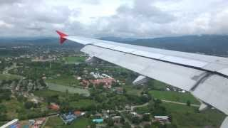 Landing At Chiang Mai Airport Thailand On Sep 06 2013