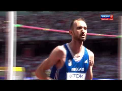 2.29 Konstadinos Baniotis HIGH JUMP WORLD CHAMIONSHIP Beijing 2015 qualification man