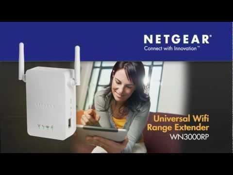 NETGEAR Universal WiFi Range Extender (WN3000RP) Product Tour