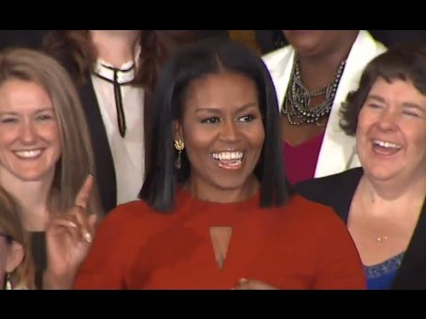 Michelle Obama Final Speech as First Lady | ABC News (видео)