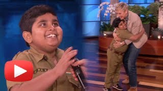 Akshat Singh from India's Got Talent On The Ellen DeGeneres Show - Must Watch