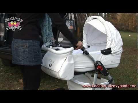 Универсальная коляска Tako Baby Heaven Carbon 2, серый+белый (эко-кожа)