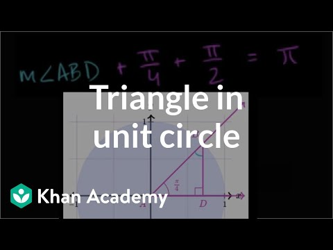 Trig values of special angles (video) | Khan Academy