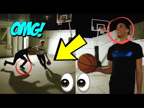 Lonzo Ball Can't Guard Lamelo Ball 1 on 1! :: Ball Brothers 1 Vs 1 (видео)