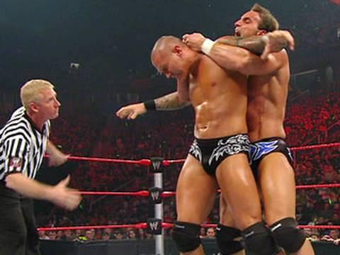 Raw: Chris Masters vs. Randy Orton