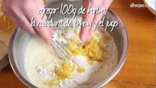 Cuadraditos fáciles de limón