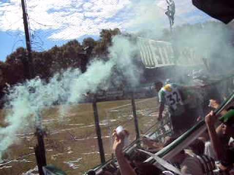 Excursio vs J.J.Urquiza (10.04.2010) Recibimiento - La Banda del Nevado - Excursionistas
