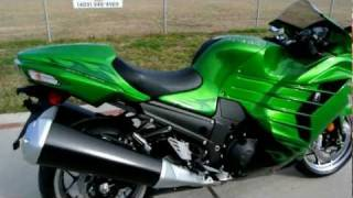 4. Overview and Review: 2012 Kawasaki ZX14R Ninja in Golden Blazed Green Special Edition