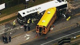 Police Investigate 'Catastrophic' Bus Crash