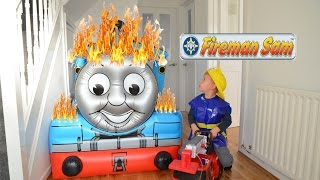Fireman Sam Giant FIRE Thomas And Friends Rescue Feuerwehrmann Sam Show