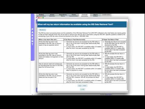 IRS Data Retrieval Tool Video