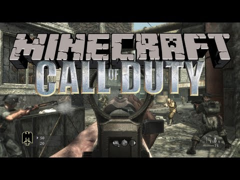 Minecraft: CALL OF DUTY! w/BajanCanadian #3