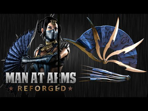 Blacksmiths Recreate Kitana s War Fans from Mortal Kombat