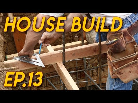 This guy is walking people through how to build an entire house! Extremely wholesome
