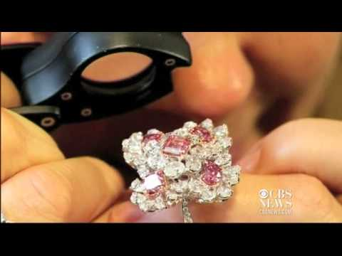 Rare colored diamonds displayed in Hong Kong