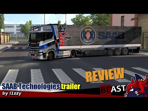 Saab Technologies Trailer by l1zzy v1.0.1