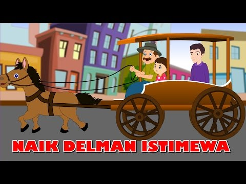Naik Delman Istimewa | Lagu anak TV | Riding a Horse Drawn Carriage in Bahasa Indonesia