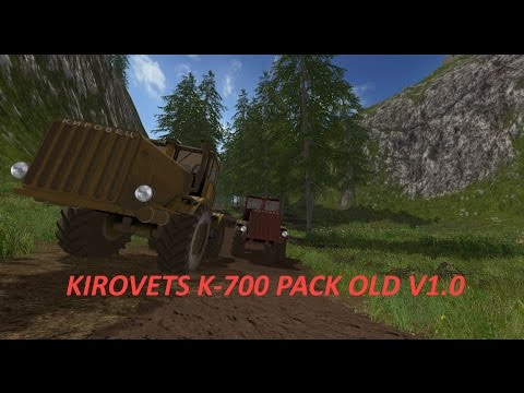 Kirovets K-700 Pack Old v1.0