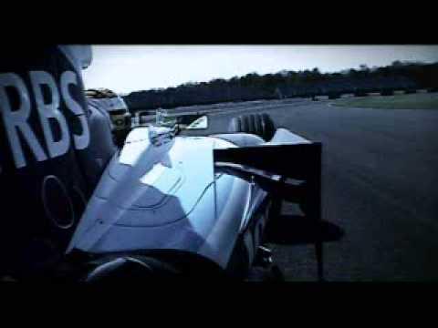 Martin Brundle & Mark Blundell Demonstrating F1 overtaking
