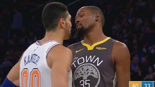 Kevin Durant 25 Pts 4th Quarter vs Knicks! 41 Points Total! 2018-19 NBA Season