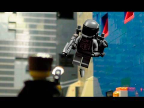 Awesome Stop Motion Lego Shoot Out