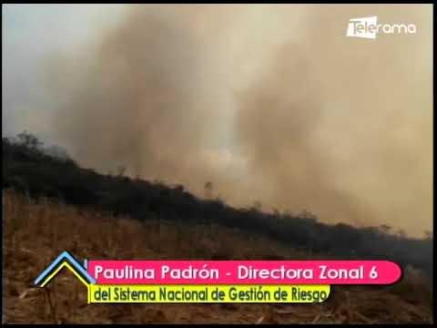 Incendios forestales afectan a varias zonas de la provincia del Azuay