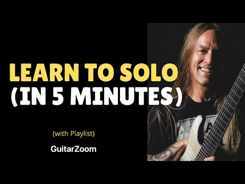 Steve Stine - 6 Note Solo Technique