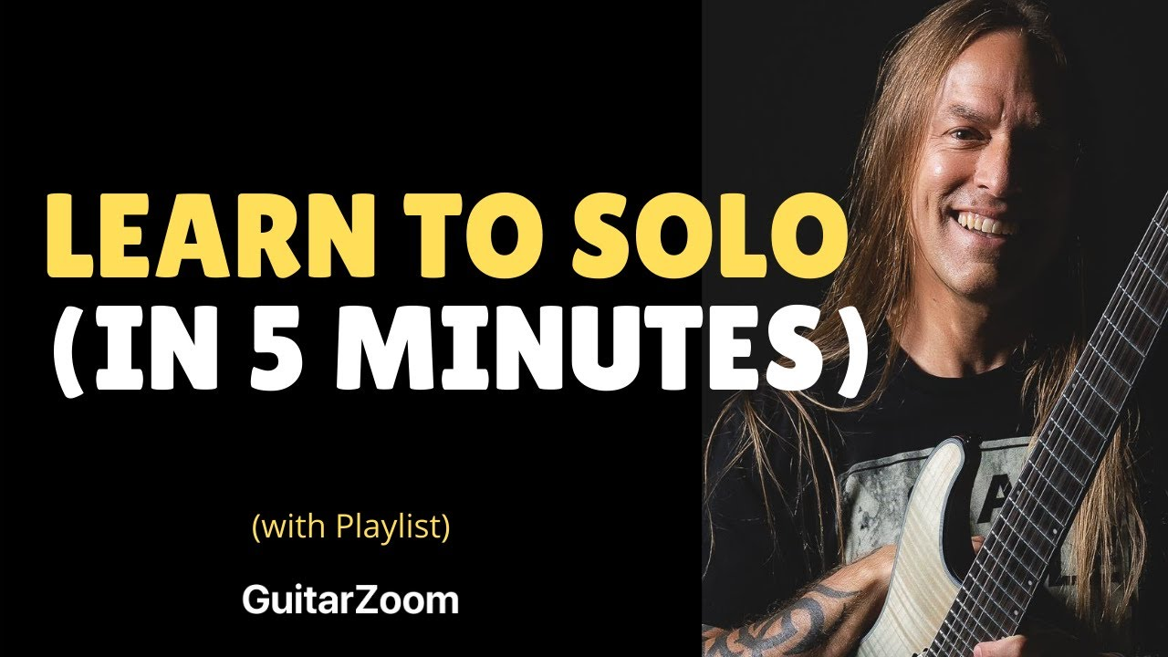 Learn To Solo In 5 Minutes – Beginner Guitar Lesson