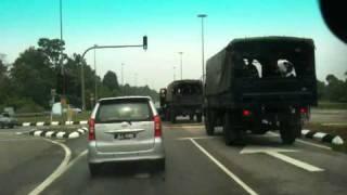 Muar Malaysia  city images : Road Accident near Muar , Johor, west Malaysia