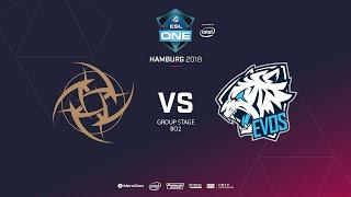 NiP vs  Evos, ESL  One Hamburg, bo2, game 2 [Maelstorm & Jam]