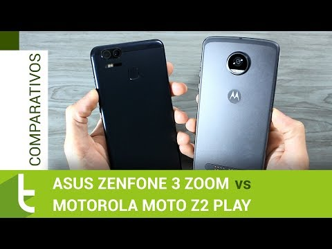 Comparativo: Zenfone 3 Zoom vs Moto Z2 Play  Review do TudoCelular