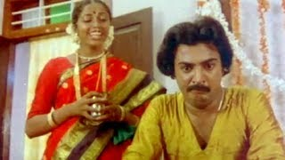 First Night Comedy - Gopurangal Saivathillai Tamil Movie Scene - Mohan, Suhasini